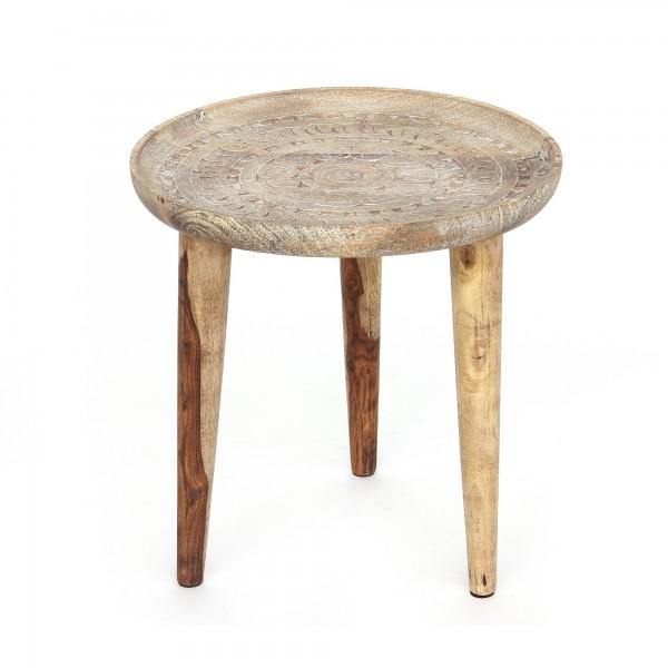 Tisch 'Moules', natur, Ø 44cm, H 46cm