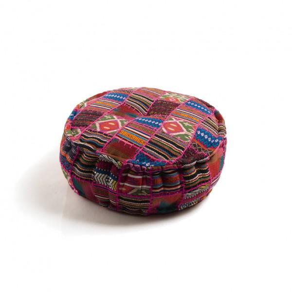 Sitzpouf, multicolor, H 20 cm, Ø 60 cm