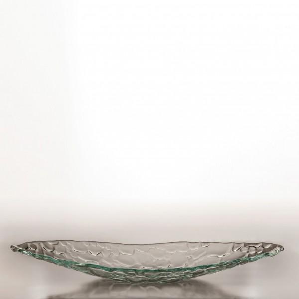 "Glasschale ""Svendborg"", klar, L 40 cm, B 19 cm, H 4 cm"