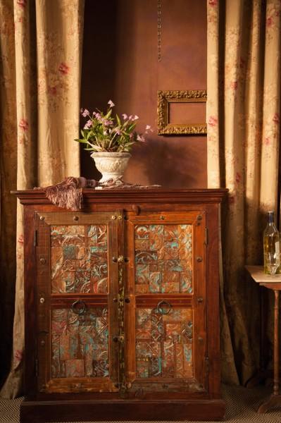 Kommode 'Cumbria' aus recyceltem Holz, L 44 cm, B 106 cm, H 114 cm