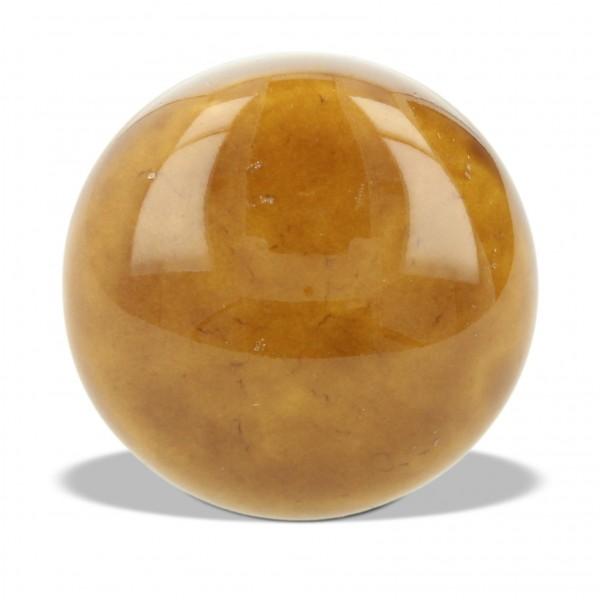 Knopf rund, braun, Ø 3,5 cm