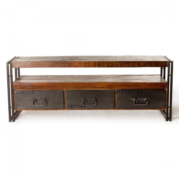 "TV-Board ""Avondale"", braun, L 40 cm, B 150 cm, H 55 cm"