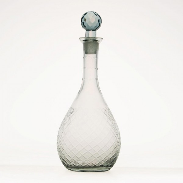 "Glasflakon ""Sagar"", klar, H 23,5 cm, Ø 10 cm"
