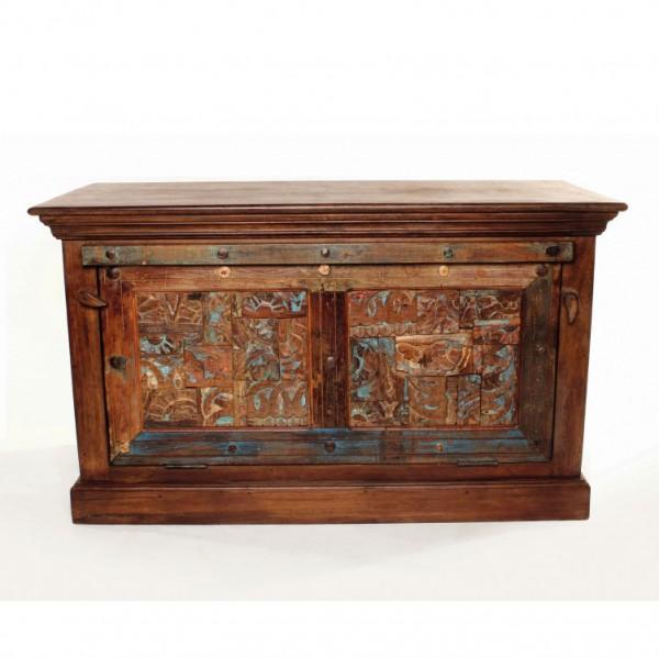 Schuhschrank 'Celbridge' aus recyceltem Holz, L 46 cm, B 104 cm, H 51 cm