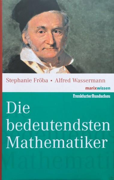 Buch 'Die bedeutendsten Mathematiker'