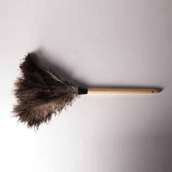 Staubwedel aus Straußenfedern, L 50 cm