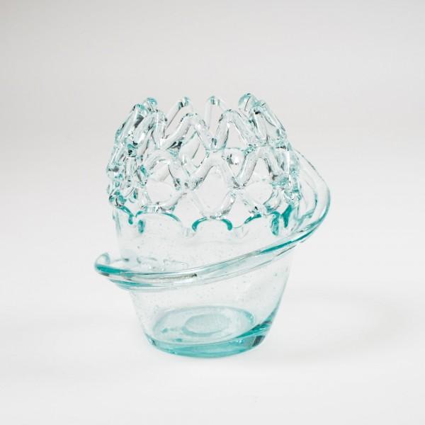 Glasvase, Ø 20 cm, H 22 cm