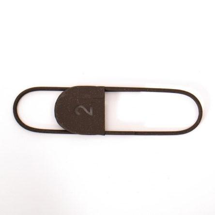 "Anhänger ""Notizklammer No. 2"" aus Metall, L 16 cm"