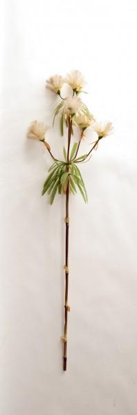 """Kunstpflanze """"Bambusgras Halm"""", weiß, H 120 cm"""