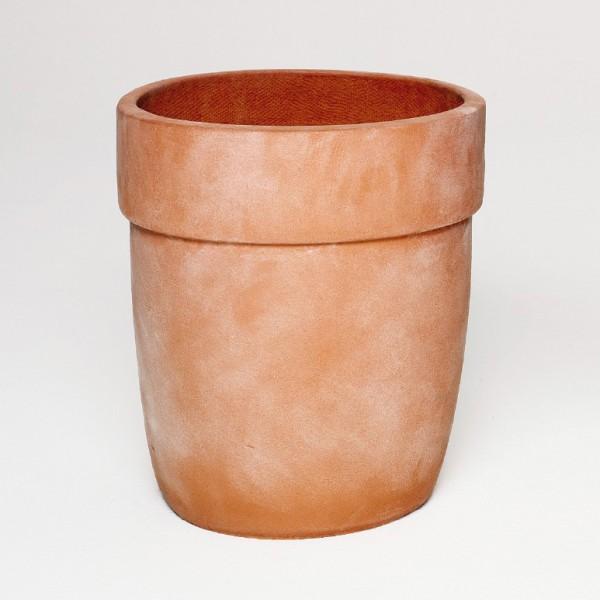 Pflanztopf, terracotta, H 42 cm, Ø 37 cm