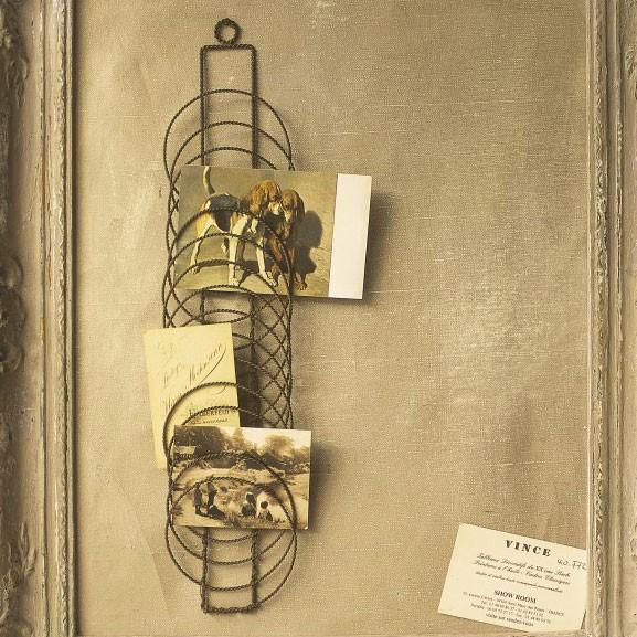 Notizwandhalter, antik-braun, B 10 cm, H 43 cm
