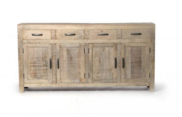 """Sideboard """"Wackwolf"""", mit 4 Türen und 4 Schubladen, braun, T 40 cm, B 180 cm, H 90 cm"""