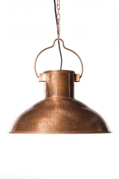Lampe, kupfer, Ø 40 cm, H 24 cm