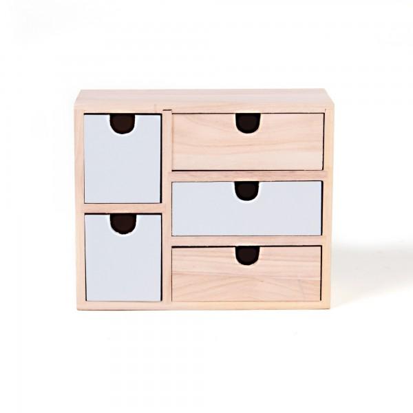 "Schubladenbox ""Cospicua"", L 9 cm, B 22 cm, H 18 cm"