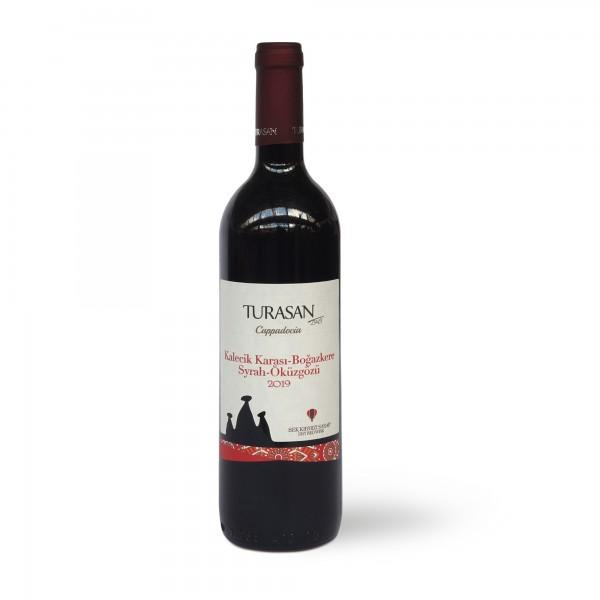 Turasan Kirmizi trockener Rotwein 750 ml