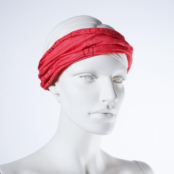 Haarband 'Richmond', aus 100% Baumwolle, rot