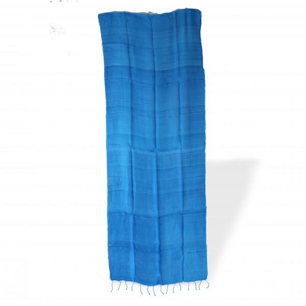 Seidenschal, eisblau, L 70 cm, B 170 cm