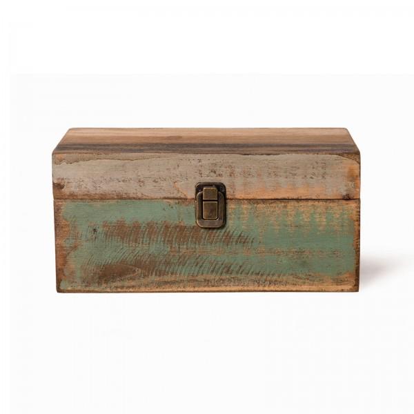 Holzbox L, im Factory Design, L 20 cm, B 33 cm, H 15 cm