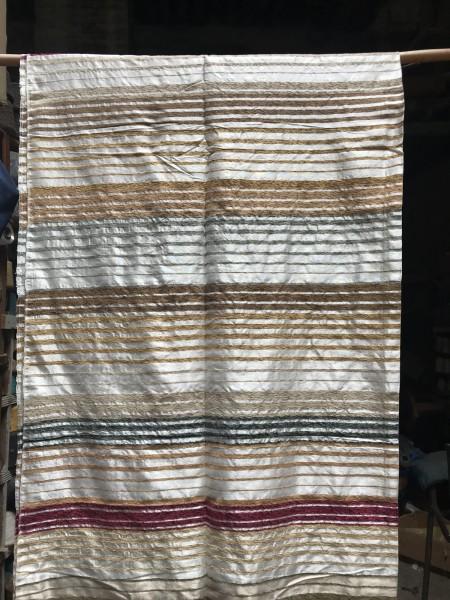 Decke aus Sabra, camel, T 300 cm, B 200 cm