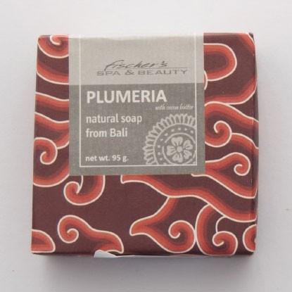 """Naturseife """"Plumeria"""", 95 g, aus 100% natürlichen Inhaltsstoffen"""