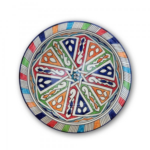 Zierkeramikteller 'Touareg', Ø 28 cm, H 6,5 cm