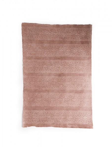 """Geschenkpapier """"Borde"""", handgeschöpft, L 51 cm, B 76 cm"""