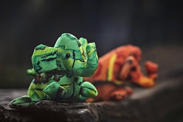 Sandtier 'Elefant' XS, multicolor, T 7 cm, B 7 cm, H 5 cm