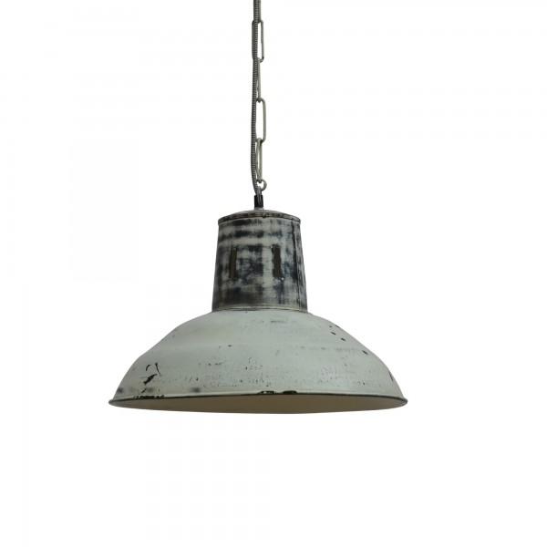 Lampe 'Tatty', weiß, grau, Ø 40 cm, H 31 cm