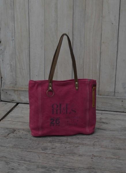 "Umhängetasche ""Oli Hels"", pink, B 47 cm, H 36 cm"