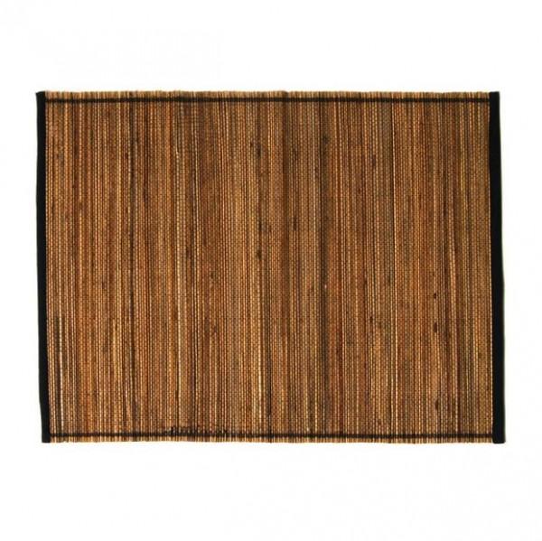 Tischset, schwarz/natur, L 35 cm, B 45 cm