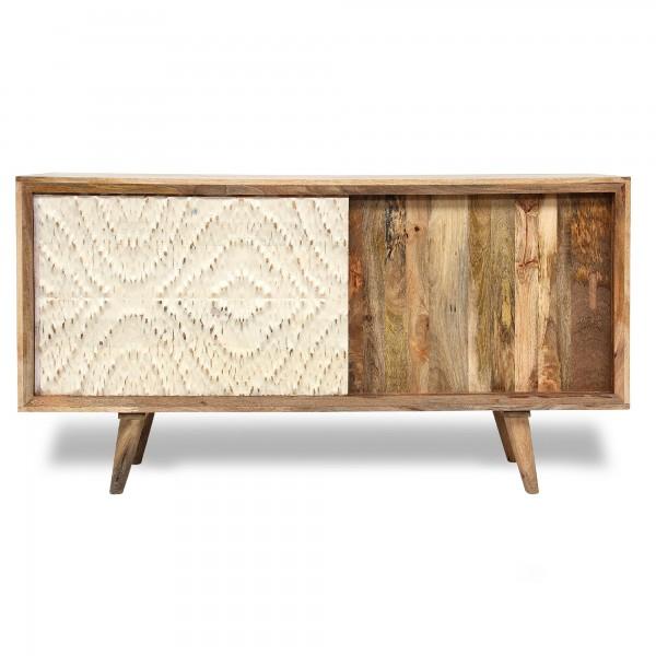 Sideboard 'Bendten', natur, T 45 cm, B 160 cm, H 85 cm