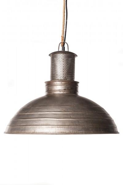 Lampe 'Darkgrey', graphitgrau, Ø 48 cm, H 40 cm
