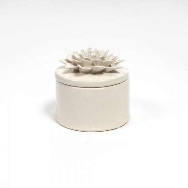 """Keramikbehälter """"Dianthus fulvus"""", beige"""