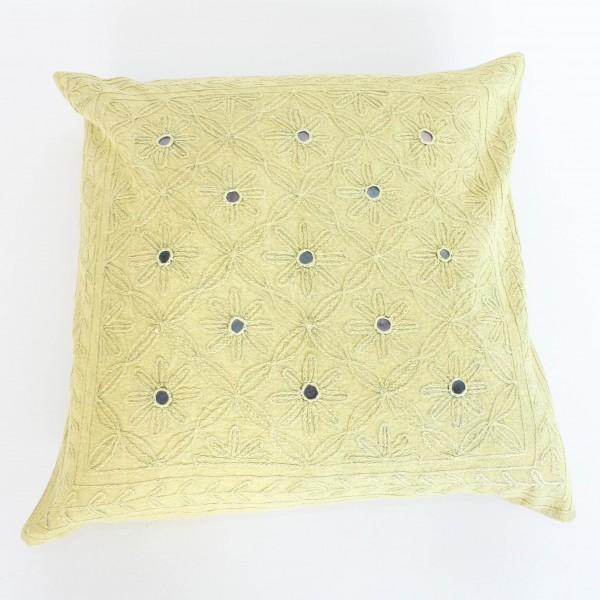 Kissenhülle, hellgrün, L 40 cm, B 40 cm