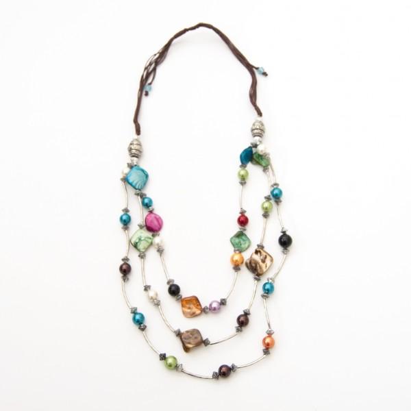 """Halskette """"Pastel-Pearls"""", multicolor"""