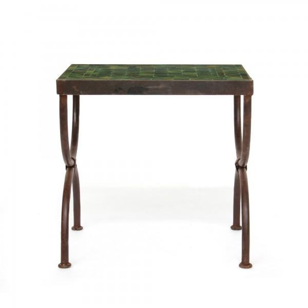 rechteckiger Tisch / Beistellstisch M, oliv, T 45 cm, B 30 cm, H 45 cm
