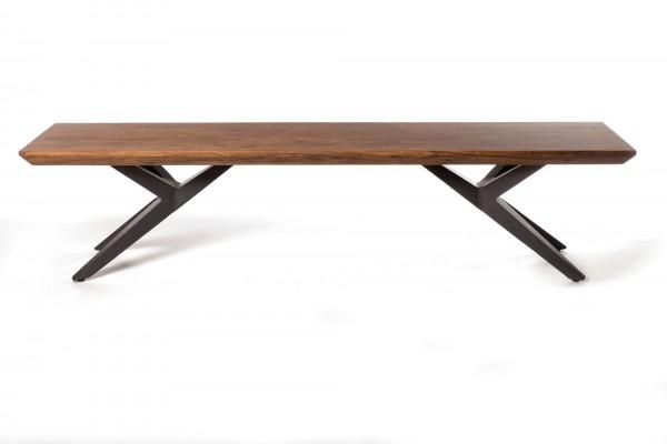 Sitzbank 'Juma', natur, T 40 cm, B 200 cm, H 45 cm
