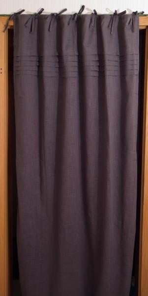 Vorhang 'Voile', grau, B 105 cm, H 145 cm