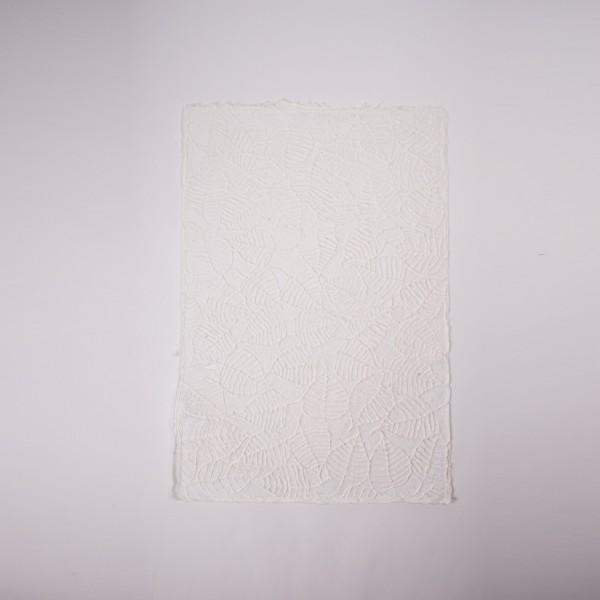 Geschenkpapier Spitze Boshi, weiß, T 79 cm, B 53 cm