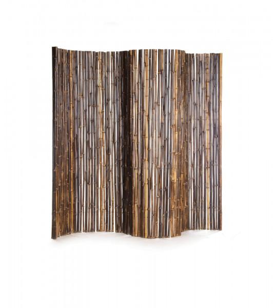 Bambuswand als Sichtschutz, natur, T 3 cm, B 240 cm, H 180 cm
