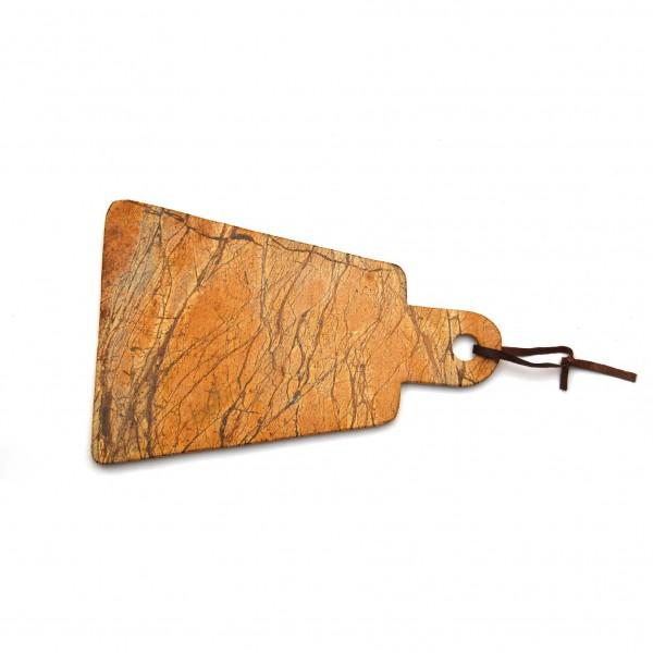 "Schneidebrett ""Prooja"", aus Marmor, L 11-20 cm, B 30 cm"