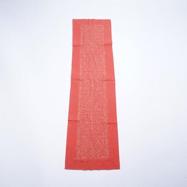 "Tischläufer ""Church"", rot, L 150 cm, B 40 cm"