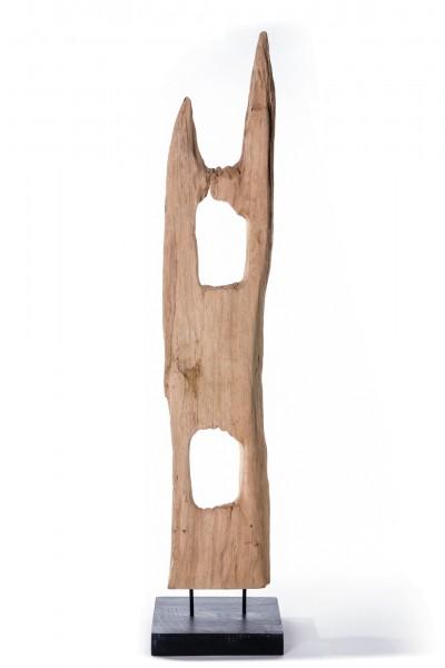 Ständerwerk auf Sockel, natur, T 20 cm, B 25 cm, H bis zu 120 cm