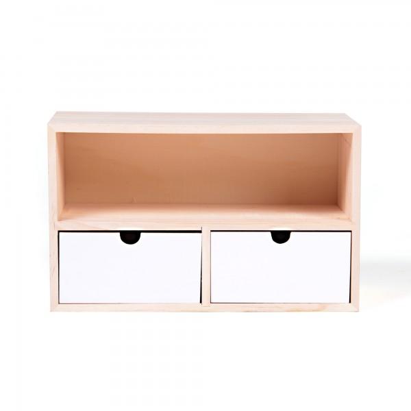 "Schubladenbox ""Mosta"", L 14 cm, B 30 cm, H 18 cm"