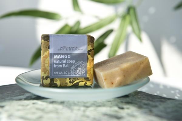 Naturseife 'Mango', 40 g, aus 100% natürlichen Inhaltsstoffen