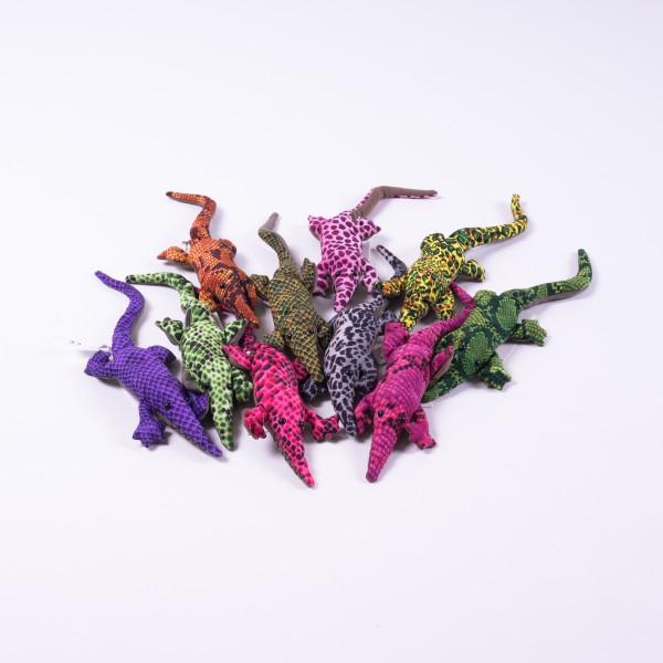 Sandtier 'Krokodil' S, multicolor, L 22 cm