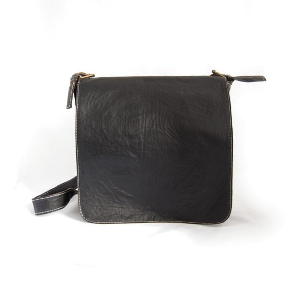 Messengertasche, schwarz, B 34 cm, H 35 cm