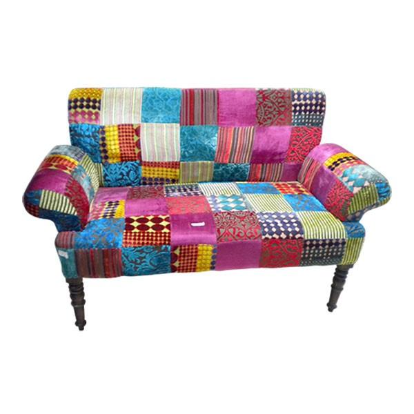 """Sofa """"Anand"""", multicolor, L 75 cm, B 145 cm, H 90 cm"""