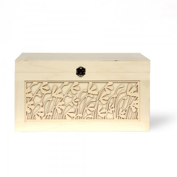 Box 'Felce' L, natur, T 30 cm, B 39,5 cm, H 21 cm