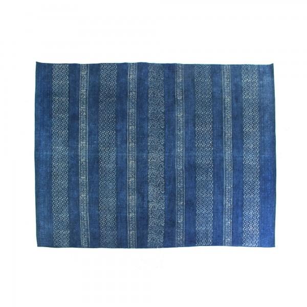 Teppich 'Agra', blautöne, T 140 cm, B 200 cm, H 1 cm